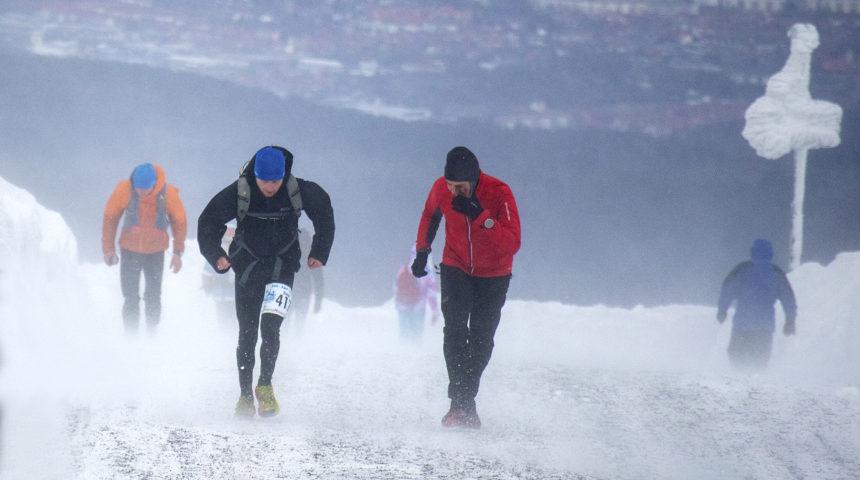 Daniel Knauer finisht Brocken-Challenge