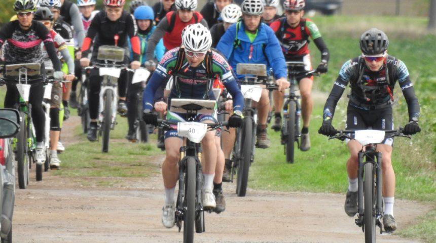 Brockenläufer fahren auch mit dem Rad