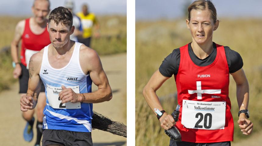 Glückwunsch! Begitte Hansen und Thomas Kühlmann gewinnen 50. Brockenlauf