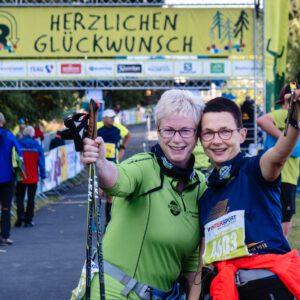 Brockenläufer starten am Rennsteig
